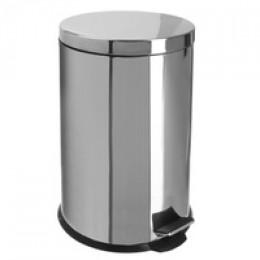 Binele Classic Ведро для мусора с педалью 20 литров полированная сталь