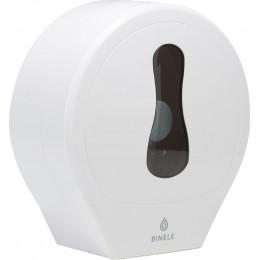 Диспенсер туалетной бумаги в рулонах белый