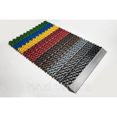 Модульное сотовое покрытие Антикаблук серый 14мм