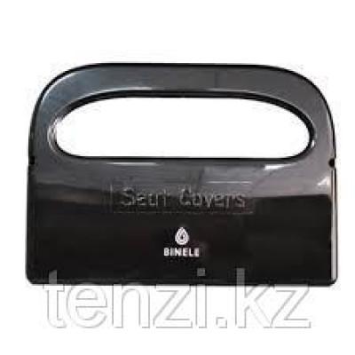 Диспенсер для подкладок на сиденье унитаза черный