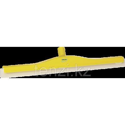 Классический сгон для пола с подвижным креплением, сменная кассета, 600 мм, желтый цвет
