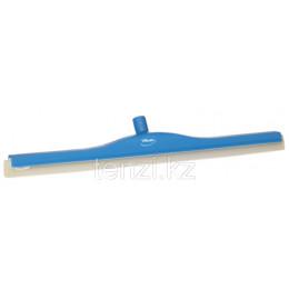 Классический сгон для пола с подвижным креплением, сменная кассета, 700 мм, синий цвет