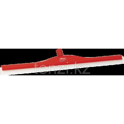 Классический сгон для пола с подвижным креплением, сменная кассета, 700 мм, красный цвет