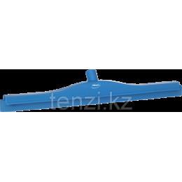 Гигиеничный сгон для пола со сменной кассетой, 605 мм, синий цвет