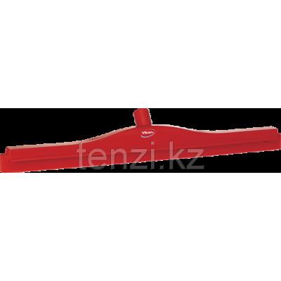 Гигиеничный сгон для пола со сменной кассетой, 700 мм, красный цвет