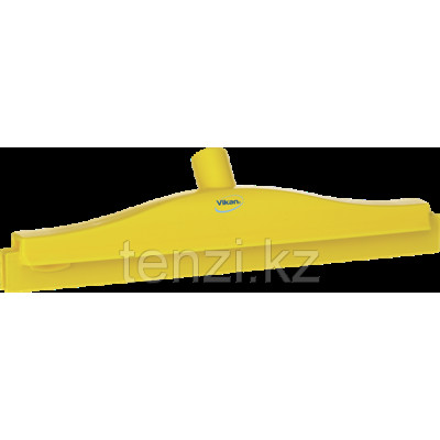 Гигиеничный сгон с подвижным креплением и сменной кассетой, 405 мм, желтый цвет