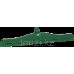 Гигиеничный сгон с подвижным креплением и сменной кассетой, 505 мм, зеленый цвет