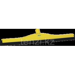 Классический сгон для пола со сменной кассетой, 600 мм, желтый цвет