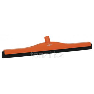Классический сгон для пола со сменной кассетой, 600 мм, оранжевый цвет