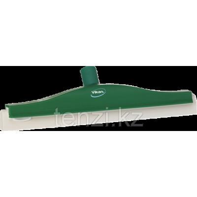Классический сгон для пола с подвижным креплением, сменная кассета, 400 мм, зеленый цвет