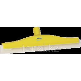 Классический сгон для пола с подвижным креплением, сменная кассета, 400 мм, желтый цвет