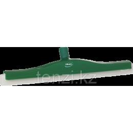 Классический сгон для пола с подвижным креплением, сменная кассета, 500 мм, зеленый цвет