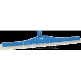 Классический сгон для пола с подвижным креплением, сменная кассета, 600 мм, синий цвет