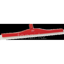 Классический сгон для пола с подвижным креплением, сменная кассета, 600 мм, красный цвет