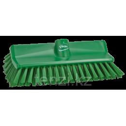 Щетка с изогнутой под углом колодкой, 265 мм, средний ворс, зеленый цвет