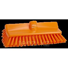 Щетка с изогнутой под углом колодкой, 265 мм, средний ворс, оранжевый цвет