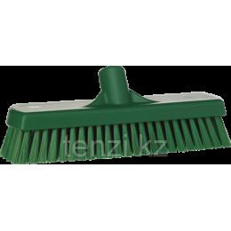 Щетка для мытья полов и стен, 305 мм, средний ворс, зеленый цвет