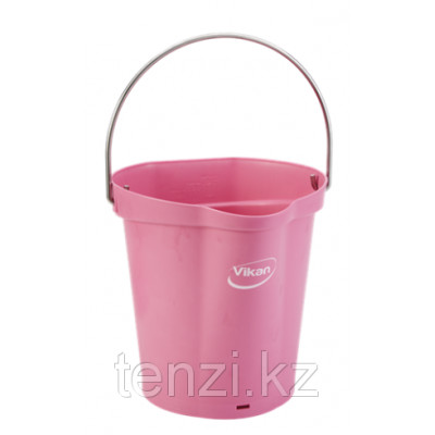 Ведро, 6 л, розовый цвет