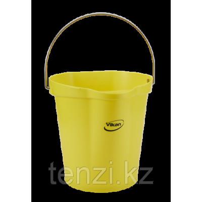 Ведро, 6 л, желтый цвет
