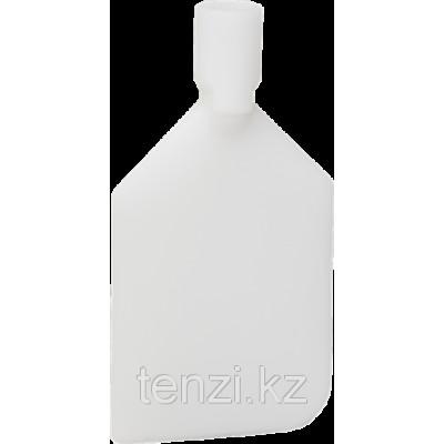 Скребок-лопата жесткий, 220 мм, белый цвет