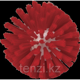 Щетка для очистки мясорубок, Ø135 мм, средний ворс, красный цвет