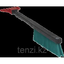 Щетка для уборки снега, 490 мм, Жесткий, черный цвет