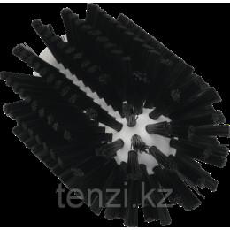 Щетка-ерш для очистки труб, гибкая ручка, диаметр 77 мм, средний ворс, черный цвет