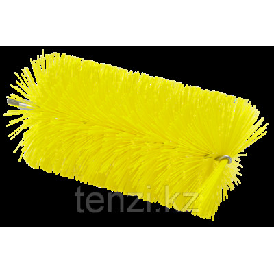 Ерш, используемый с гибкими ручками, Ø90 мм, 200 мм, средний ворс, желтый цвет