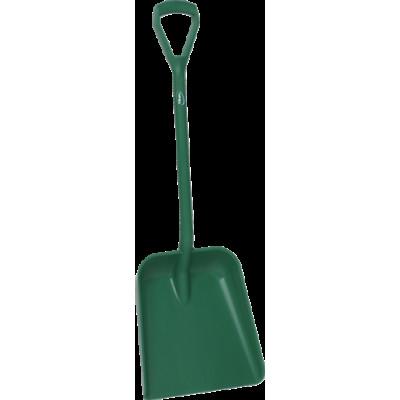Лопата, 379 x 345 x 90 мм., 1035 мм, зеленый цвет