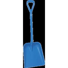 Лопата, 379 x 345 x 90 мм., 1035 мм, синий цвет