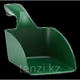 Совок ручной средний, 1 л, зеленый цвет