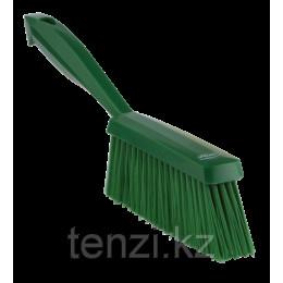 Ручная щетка, 330 мм, Мягкий ворс, зеленый цвет