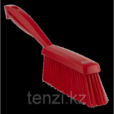 Ручная щетка, 330 мм, средний ворс, красный цвет