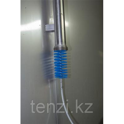 Ерш, используемый с гибкими ручками, Ø60 мм, 200 мм, средний ворс, синий цвет