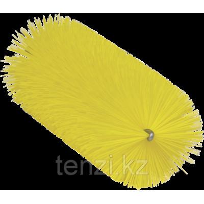 Ерш, используемый с гибкими ручками, Ø60 мм, 200 мм, средний ворс, желтый цвет