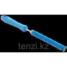 Ерш для чистки труб, диаметр 15 мм, 310 мм, Жесткий ворс, синий цвет