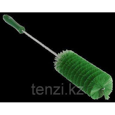 Ерш для чистки труб, диаметр 60 мм, 510 мм, средний ворс, зеленый цвет