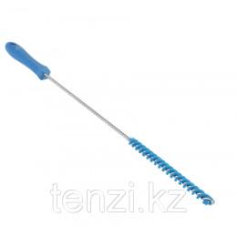 Ерш для чистки труб, диаметр 10 мм, 480 мм, Жесткий ворс, синий цвет