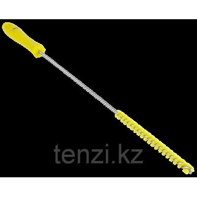 Ерш для чистки труб, диаметр 10 мм, 480 мм, Жесткий ворс, желтый цвет