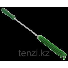 Ерш для чистки труб, диаметр 20 мм, 500 мм, средний ворс, зеленый цвет