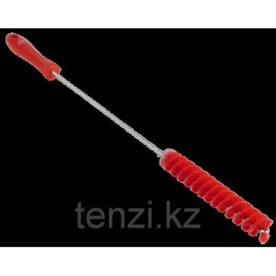 Ерш для чистки труб, диаметр 20 мм, 500 мм, средний ворс, красный цвет