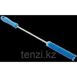 Ерш для чистки труб, диаметр 20 мм, 500 мм, средний ворс, синий цвет