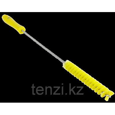 Ерш для чистки труб, диаметр 20 мм, 500 мм, средний ворс, желтый цвет