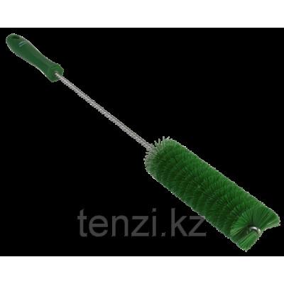 Ерш для чистки труб, диаметр 40 мм, 510 мм, Жесткий ворс, зеленый цвет