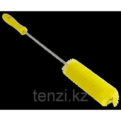 Ерш для чистки труб, диаметр 40 мм, 510 мм, Жесткий ворс, желтый цвет