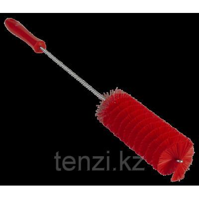 Ерш для чистки труб, диаметр 50 мм, 510 мм, средний ворс, красный цвет