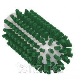 Щетка-ерш для очистки труб, гибкая ручка, диаметр 50 мм, Жесткий, зеленый цвет