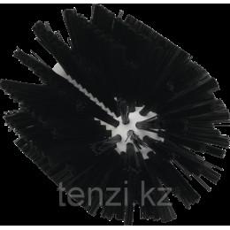 Щетка-ерш для очистки труб, гибкая ручка, диаметр 103 мм, средний ворс, черный цвет