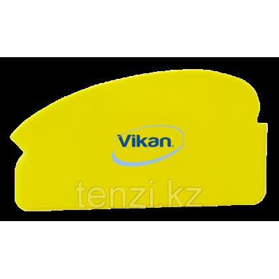 Ручной скребок универсальный, 165 мм, желтый цвет