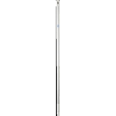 Ручка эргономичная алюминиевая, Ø31 мм, 1310 мм, белый цвет